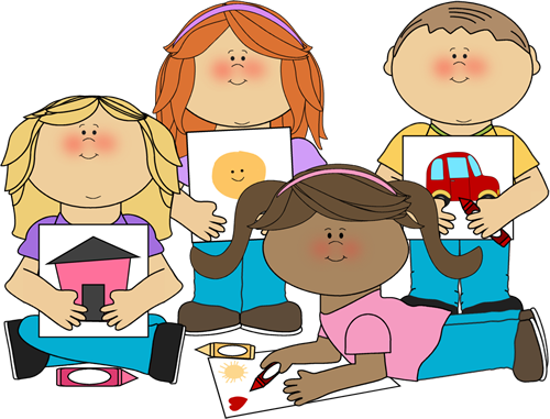 jpg royalty free stock  collection of craft. Kids doing art clipart.