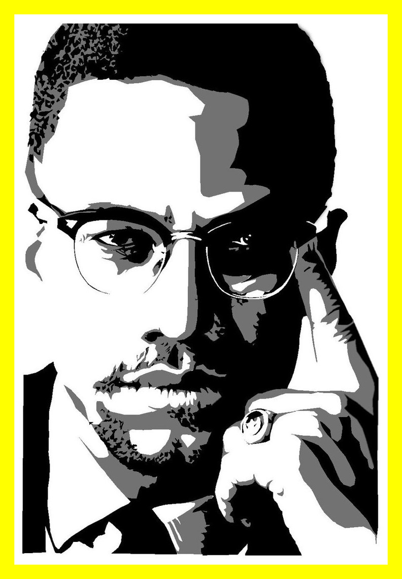 picture transparent library Station . Malcolm x clipart
