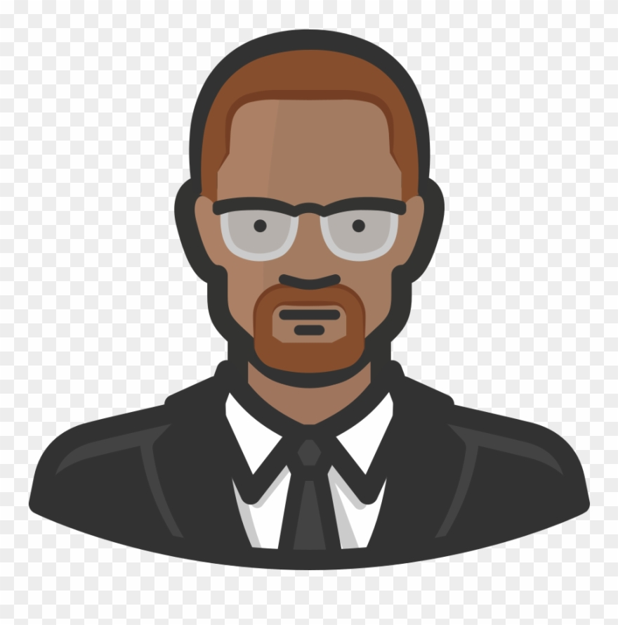 clipart royalty free library Png pinclipart . Malcolm x clipart