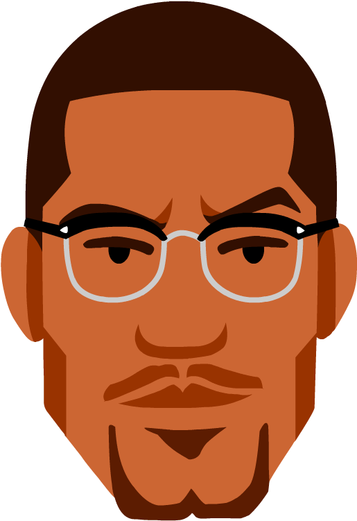 graphic free Malcolm x clipart. Download civil rights movement