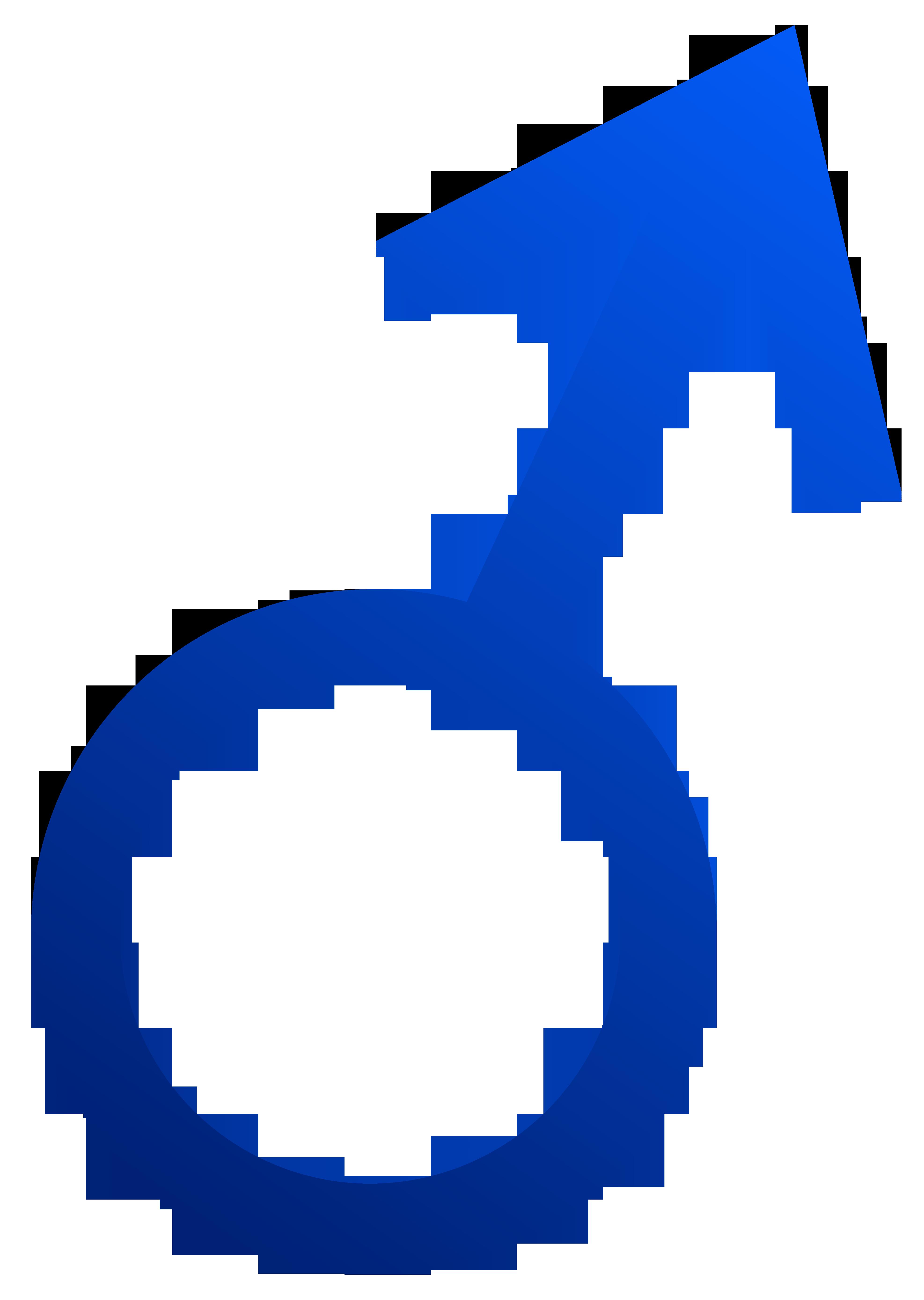 clipart download Male Symbol Blue Clip Art