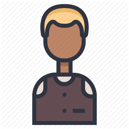 clip art transparent library Coffee shop filled line. Male clipart barista.