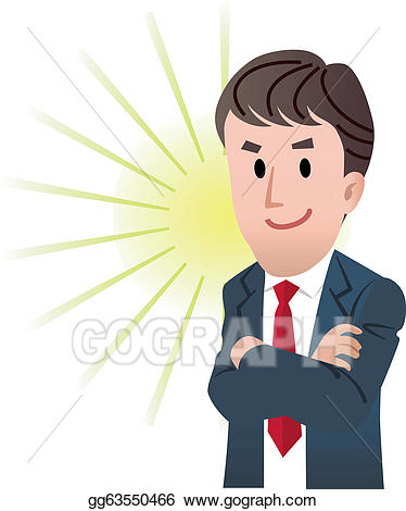 banner transparent library Eps illustration business vector. Male clipart confident man.