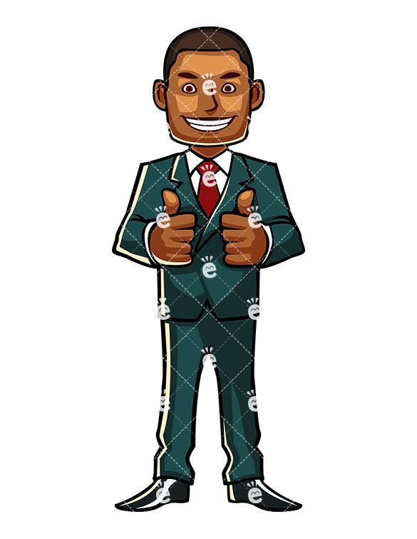 clip free download Male clipart confident man. A black professional giving.