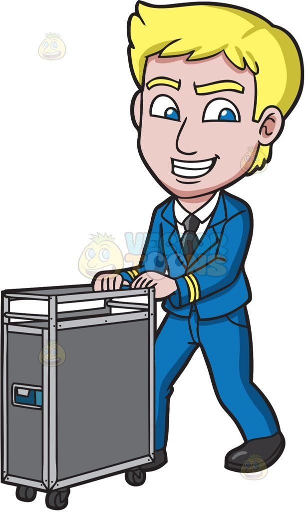 svg freeuse library Male clipart male flight attendant. Portal .