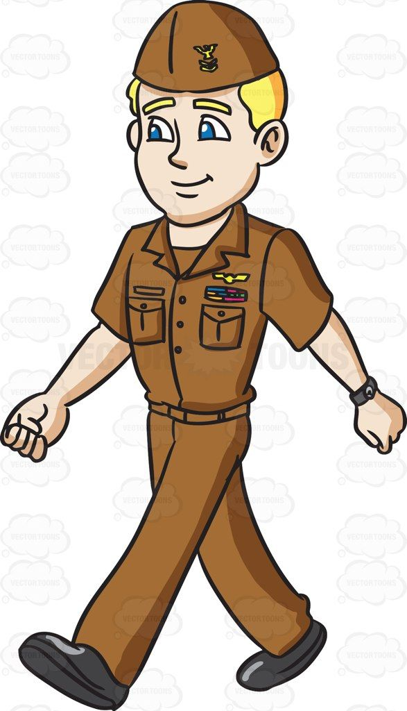 free Male clipart uniform. A navy man in.