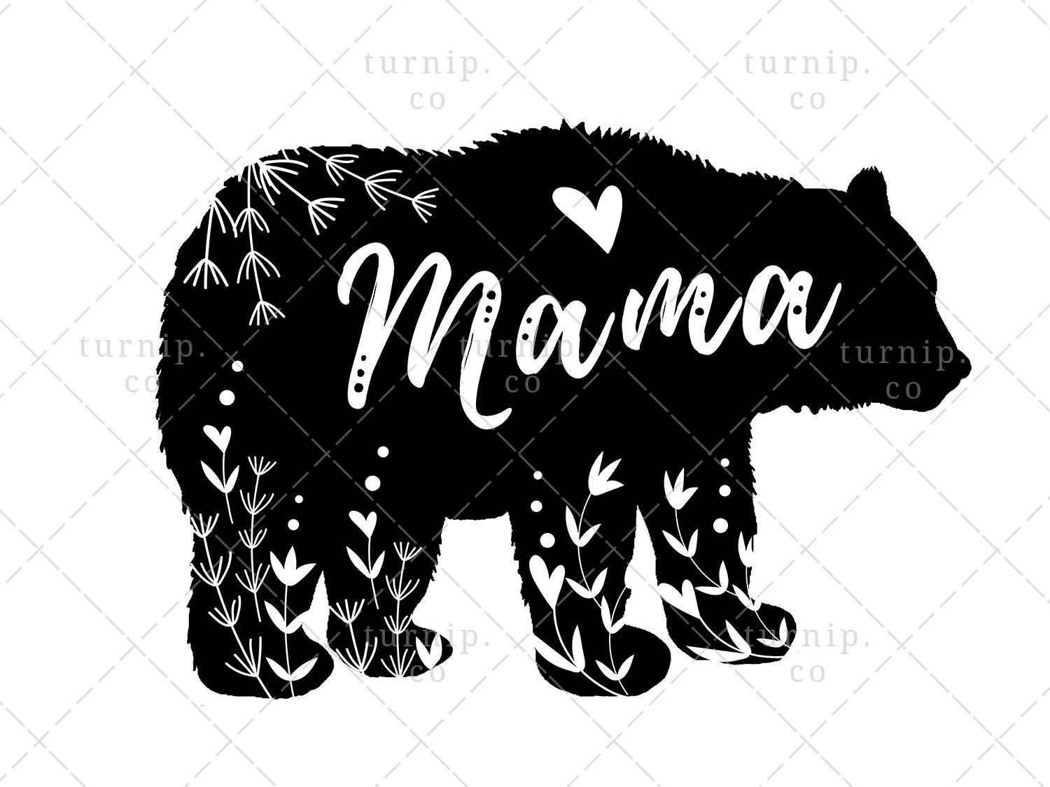 vector library stock Sublimation design graphic by. Mama bear clipart