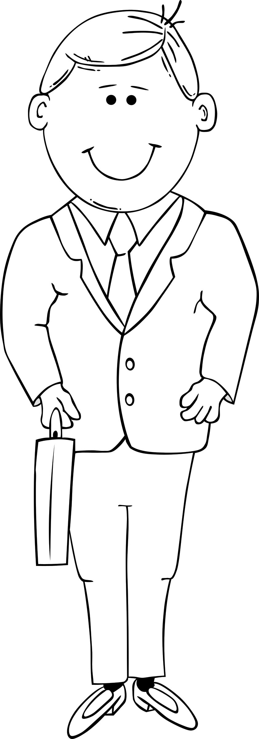 picture free stock G in suit big. Man clipart black and white