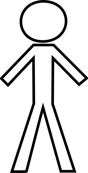 clipart transparent stock  collection of stick. Man clipart black and white.