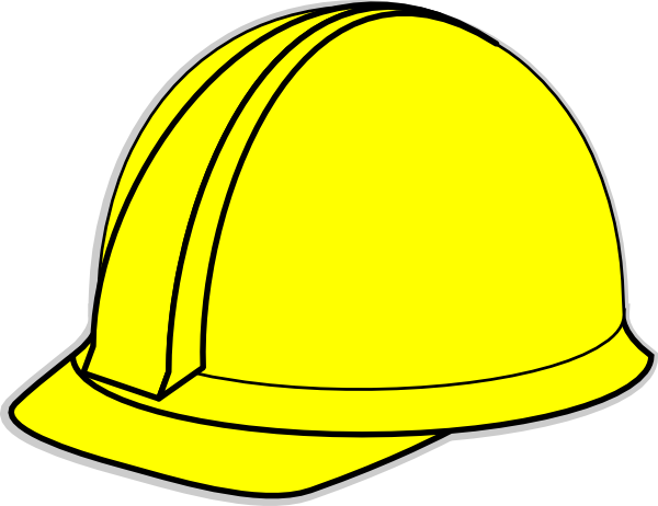 clip black and white Clip art at clker. Man clipart hard hat.