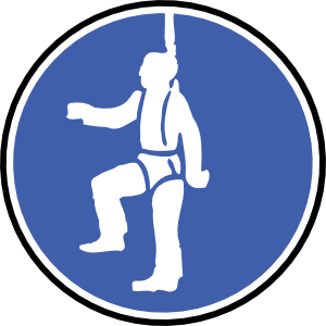 clip Men clipart ppe. Attach safety wire clip.