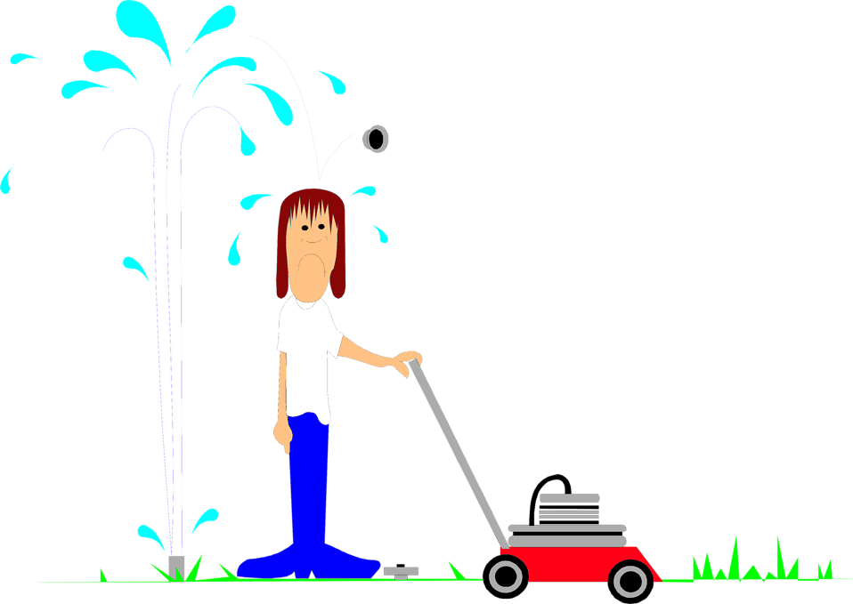 graphic freeuse download Man mowing lawn clipart. Silhouette at getdrawings com.