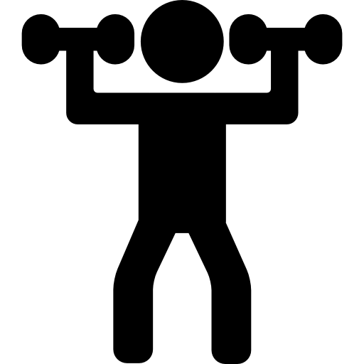 clip art royalty free download Man Lifting Weights