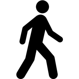 jpg library Free man cliparts download. Clipart people walking.