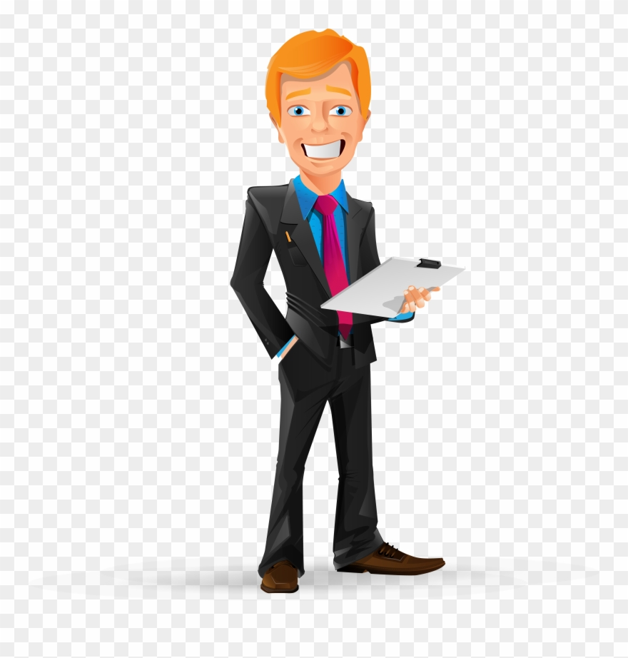 svg black and white stock Manager clipart. Png business man cartoon.