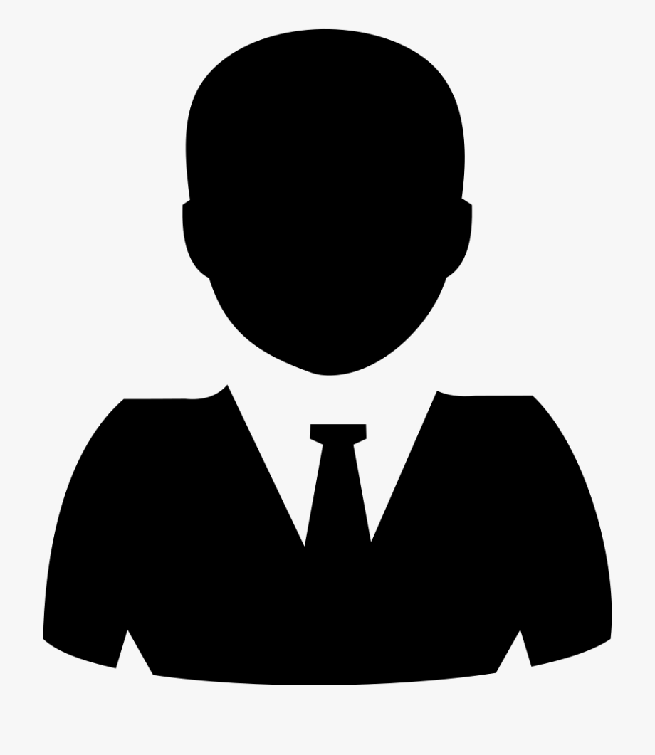 transparent library Person svg transparent icon. Manager clipart.