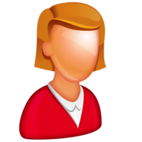 clipart transparent library female manager clipart