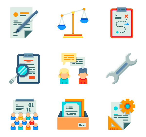 vector Manager icons free and. Vector business strategy