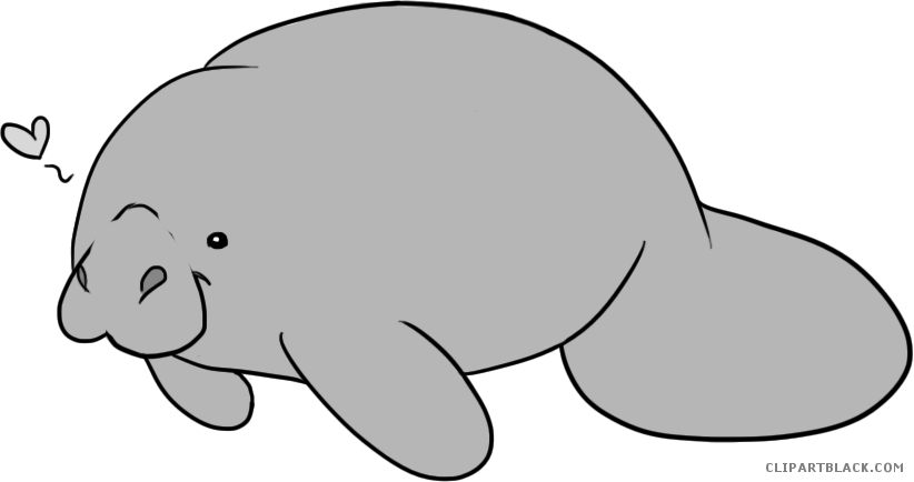 graphic transparent stock Manatee clipart. Transparent free on dumielauxepices