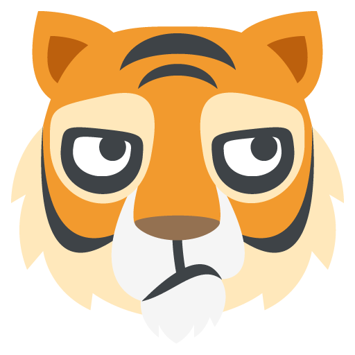 picture black and white stock Emoji Clipart tiger