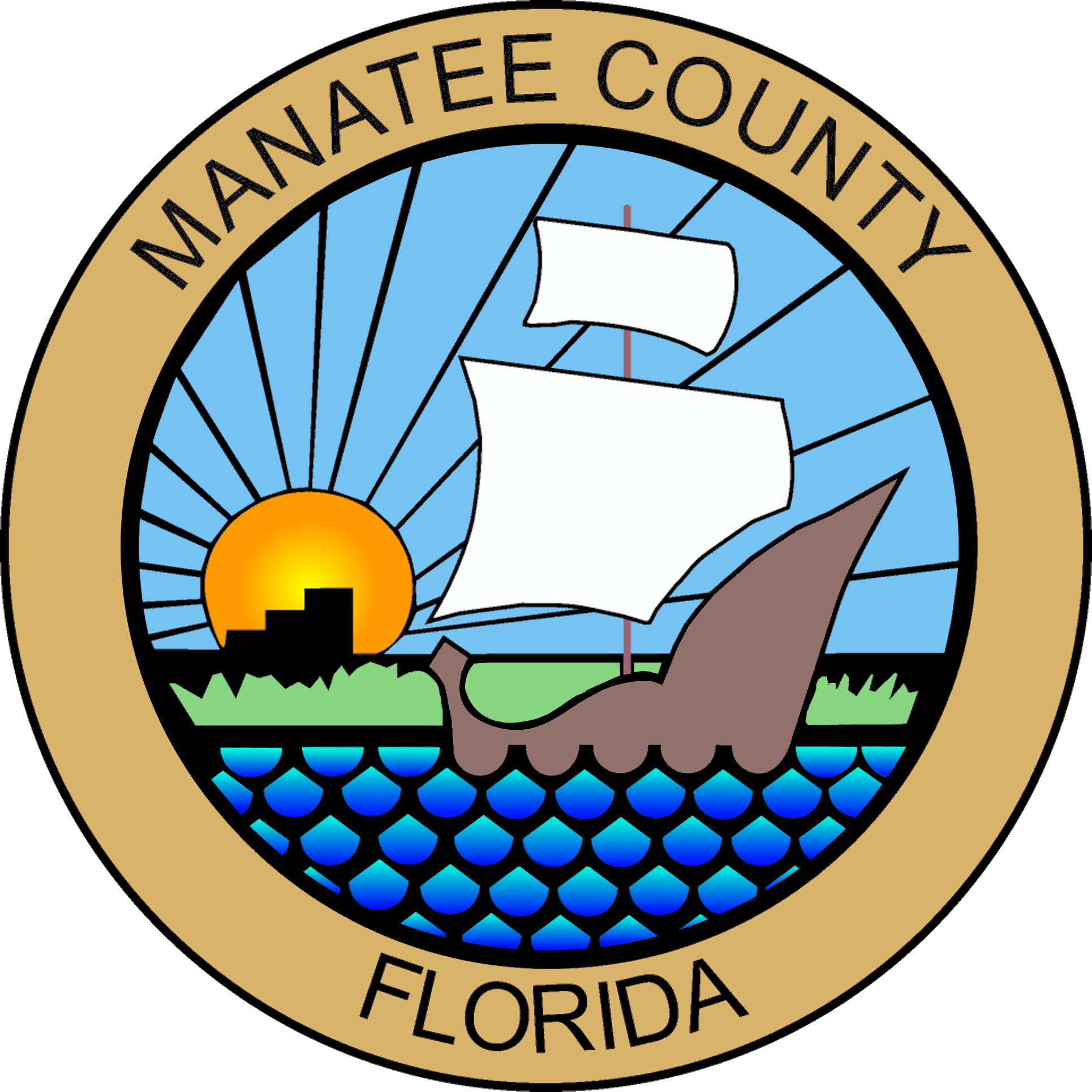 jpg transparent library Manatee clipart florida state. Free on dumielauxepices net.