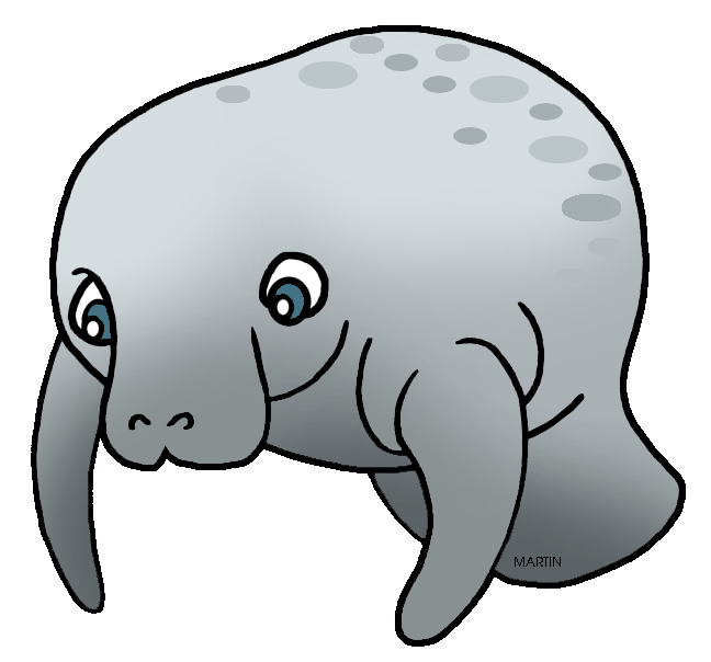png transparent Manatee clipart florida state. United states clip art.