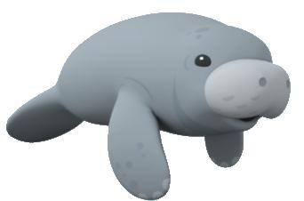 picture transparent library Manatees octonauts wiki fandom. Manatee clipart marine mammal.