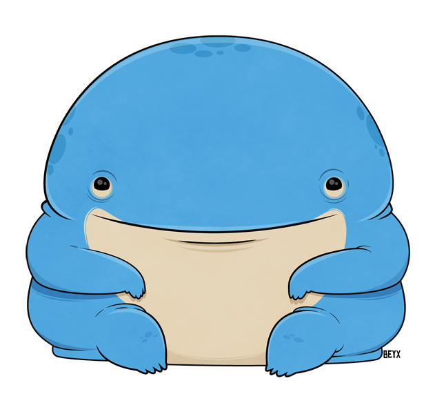 clipart stock Baby quaggan by beyx. Manatee clipart vector.