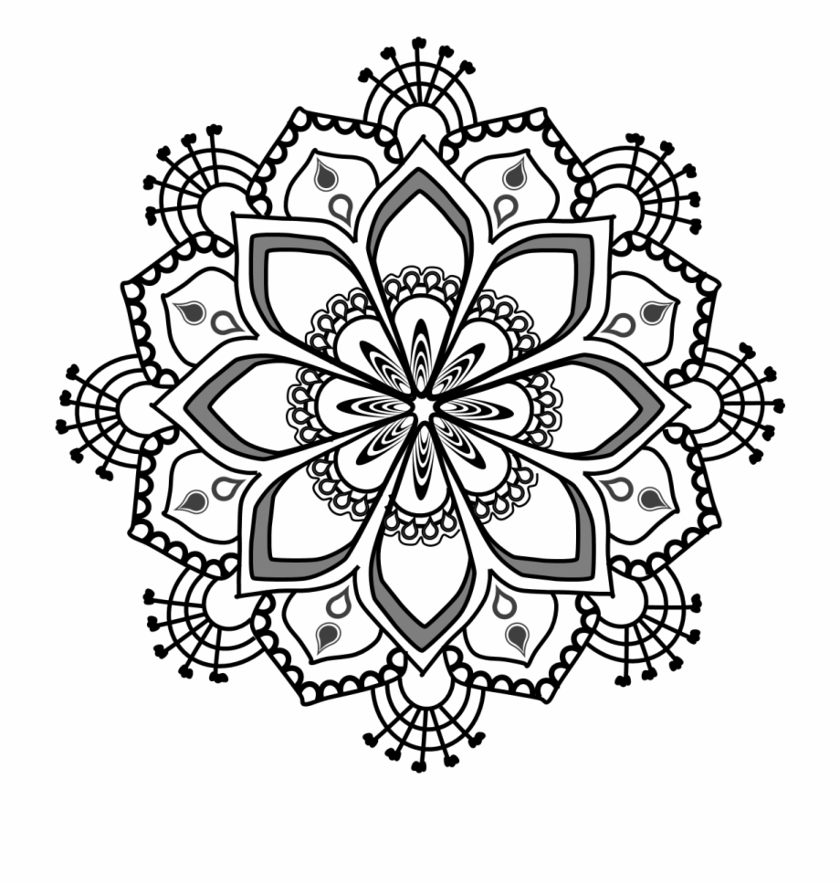 clip art library download Mandala clipart. Free series rt clip