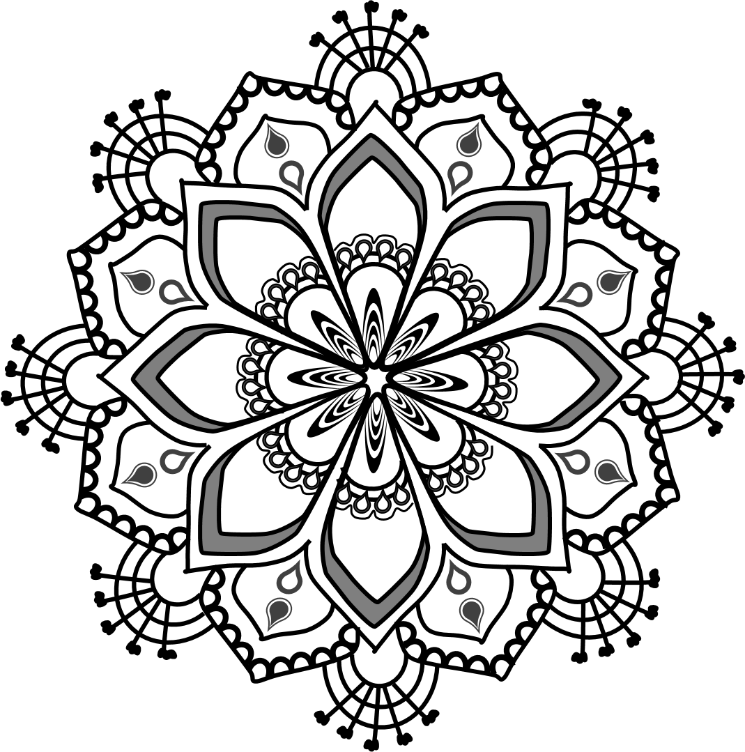banner stock Free Clipart Mandala Series RT