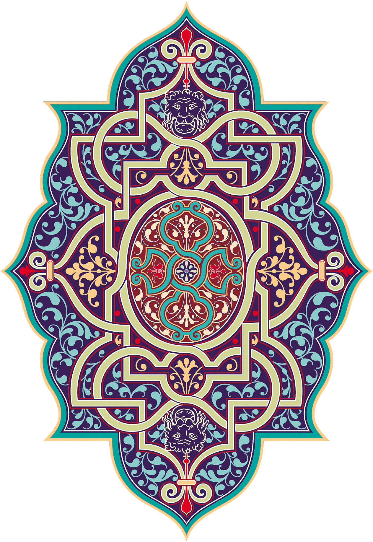 free mandala transparent islamic #114371806