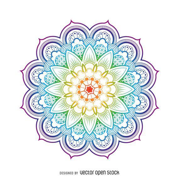 jpg freeuse Mandala transparent. Png images free download.