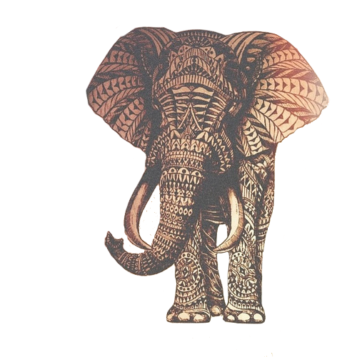 picture free download  png for free. Mandala transparent elephant