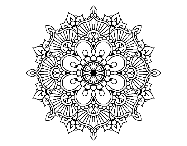 royalty free download  png for free. Mandala transparent floral