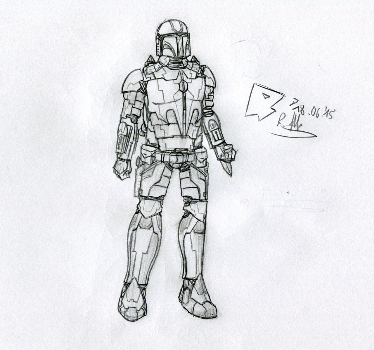 clipart free download Mandalorian Battle Armor