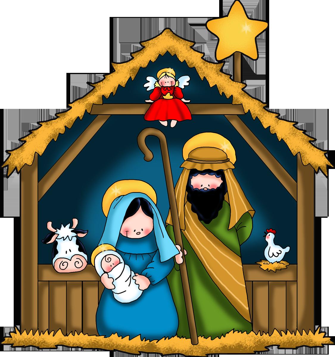 svg library the nativity children free clip art