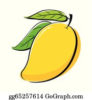clip black and white Mango clipart. Clip art royalty free