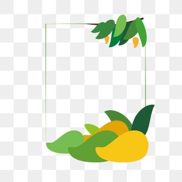 png freeuse library  summer fruit hand. Mango clipart border