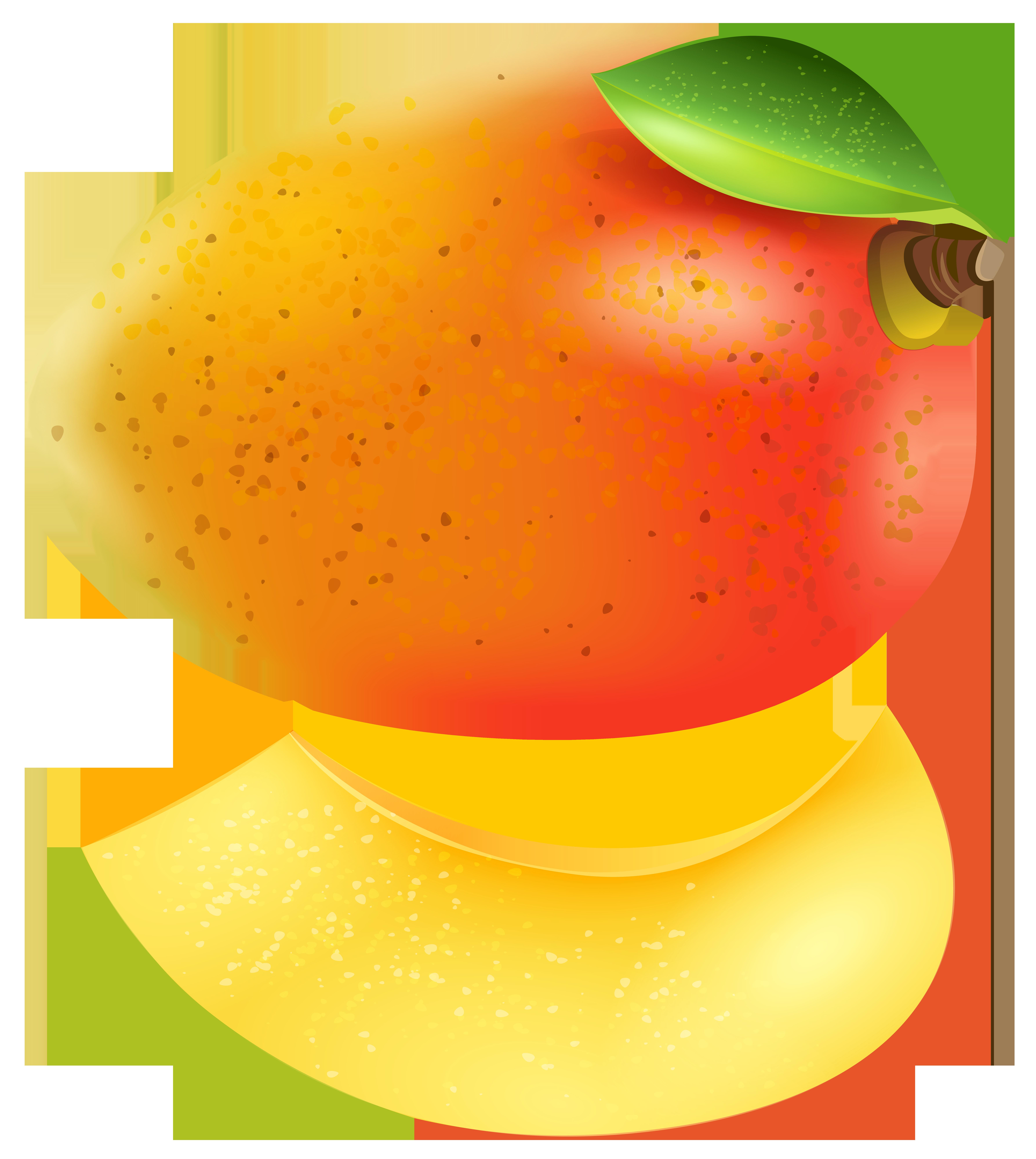 clip art download Mango clipart border. Transparent png clip art.