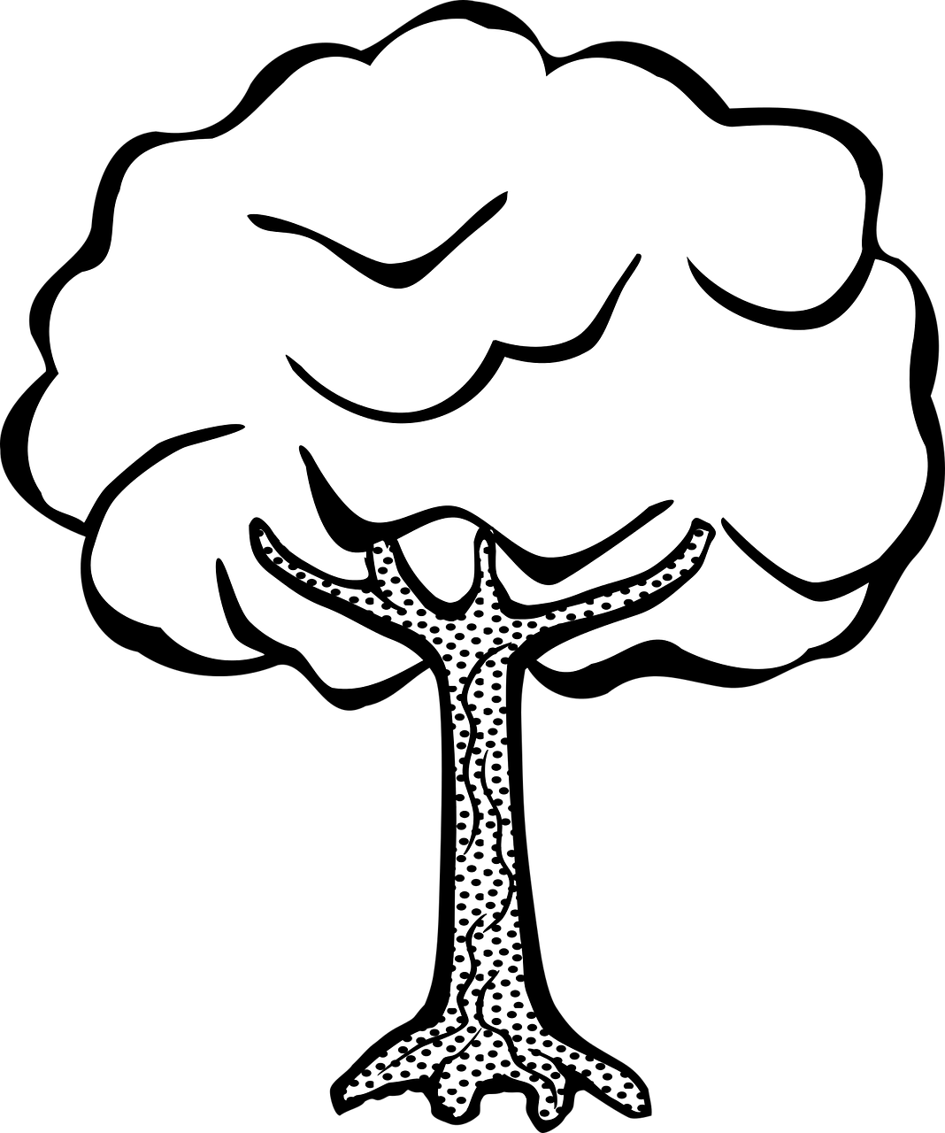 svg freeuse Kids Drawing Of A Tree at GetDrawings