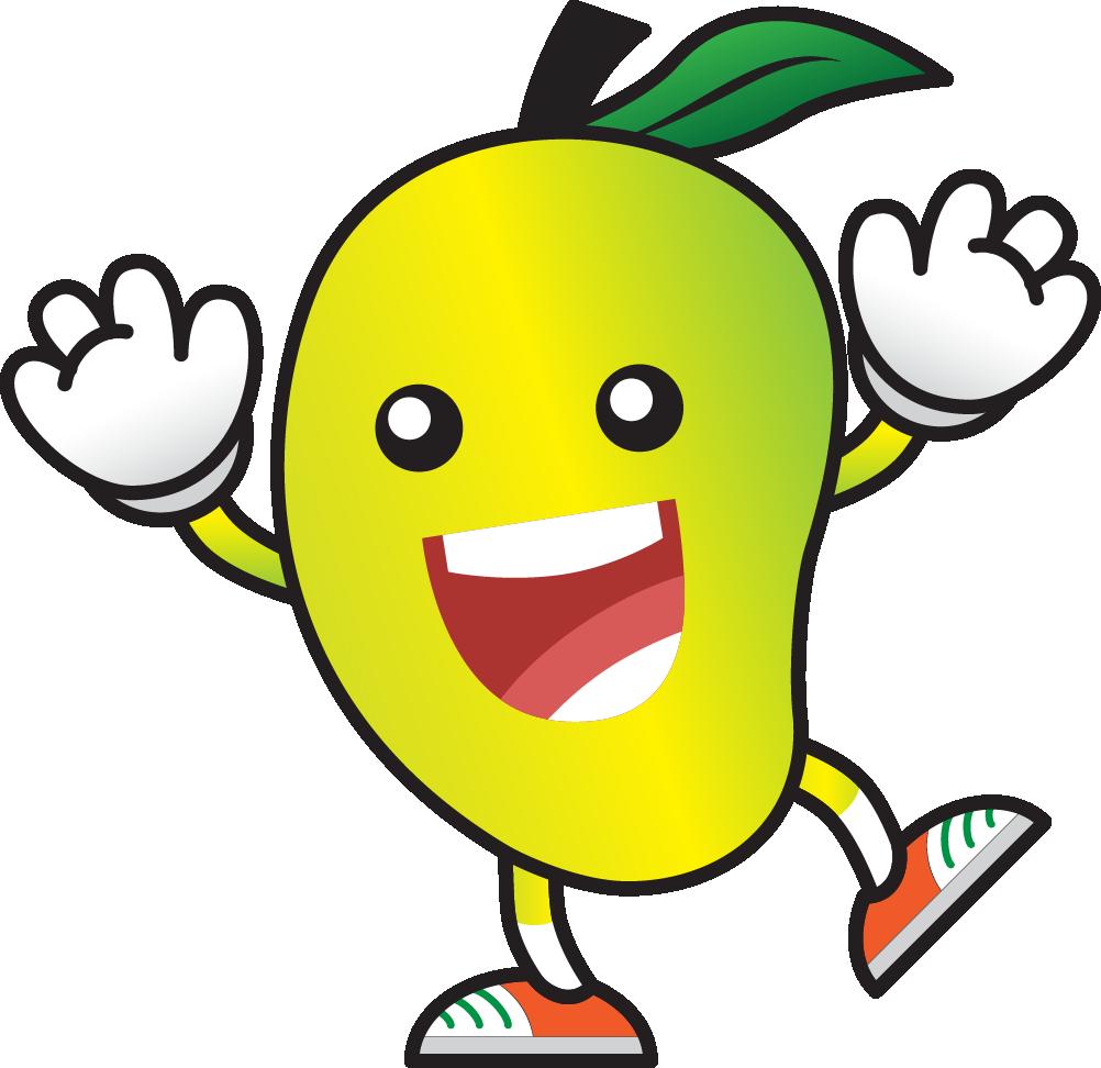 royalty free Pin by ali irfan. Mango clipart cute.
