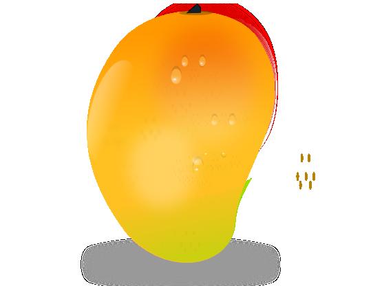 picture black and white library Mango Fruit Mango Fruit Flower