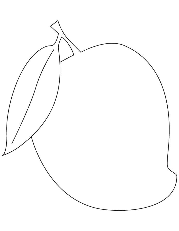 clip art free stock Mango clipart line art. Free cliparts download clip.