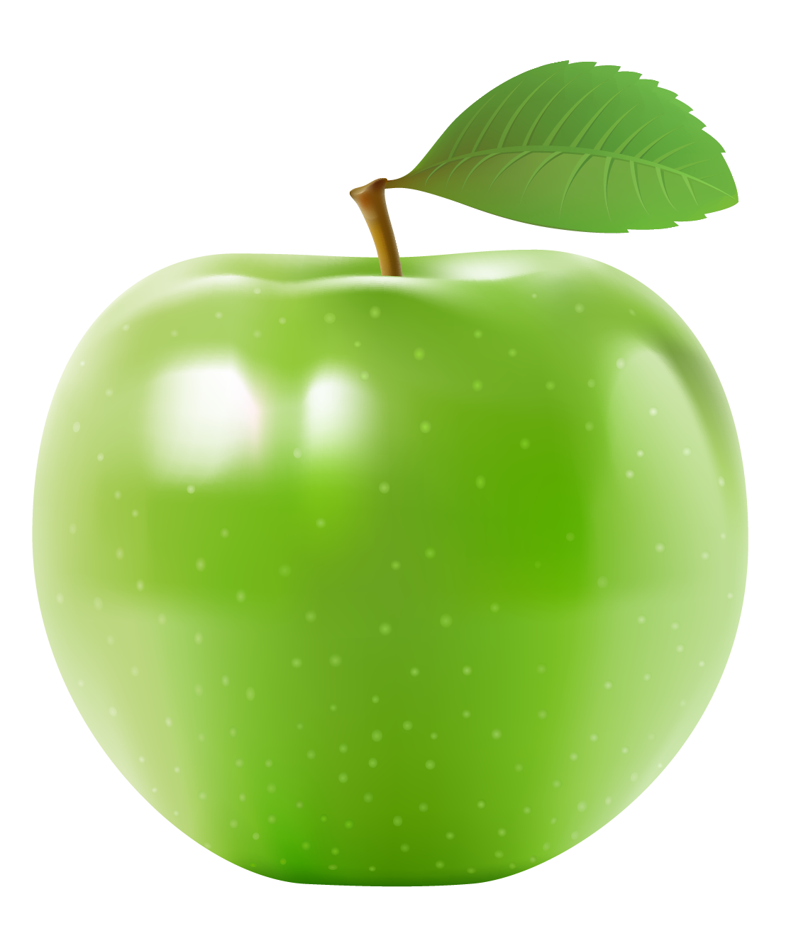 clip art royalty free download Green Apple PNG Clipart Picture