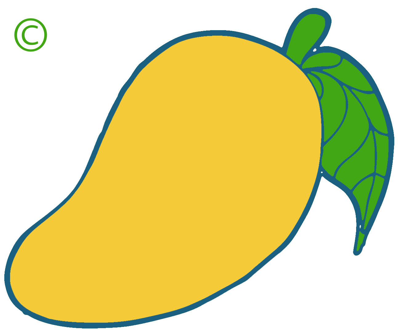 image free library Mango clipart original. Tree free download best.