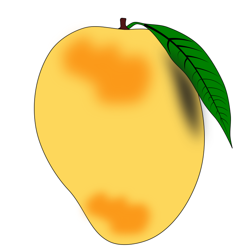 vector free Mango clipart original. Collection of free abought.
