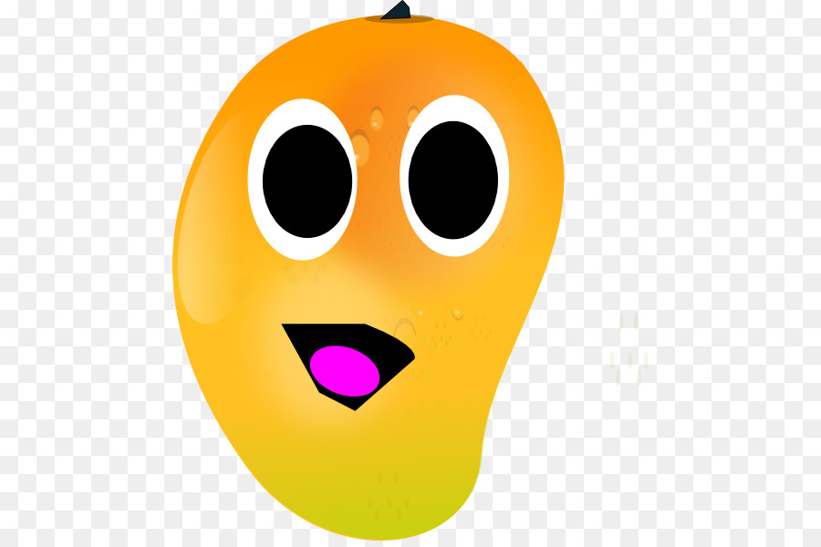 free library Smiley face background emoticon. Mango clipart smile