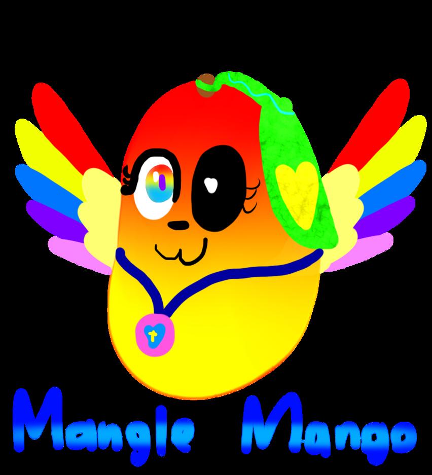 free stock Mangle by serenea artz. Mango clipart smile