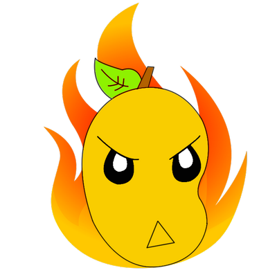 graphic library download Mango clipart smile. Fire firemangohd twitter