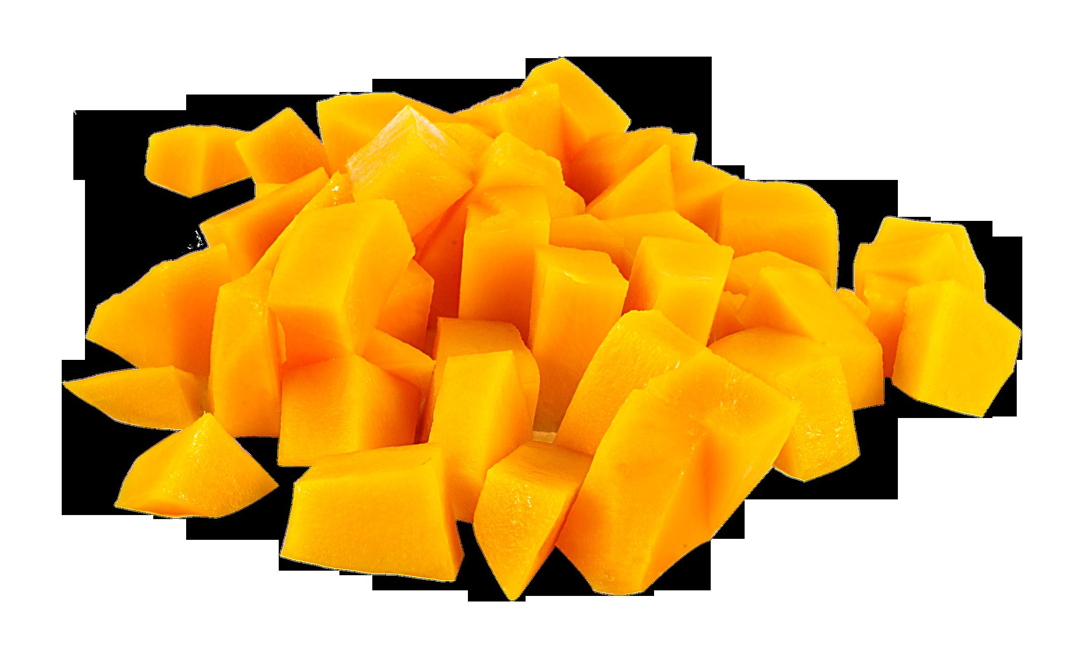 clipart stock Mango Slice PNG Image